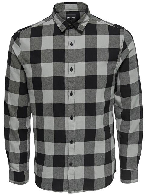ONLY&SONS Cămașă bărbătească, cămașă GUDMUND LS - tricou pentru bărbați NOOS Griffin XL