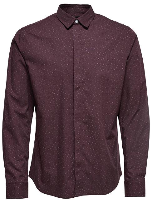ONLY&SONS Cămașă pentru bărbați Mens Otto Ls Shirt Ditsy Aop Shirt Fudge S