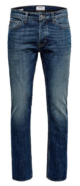 ONLY&SONS Jeans pentru bărbați ONSWEFT WASHED DCC 3614 NOOS Denim Blue 33/32