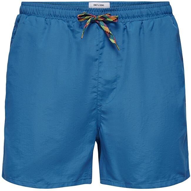 ONLY&SONS Pánske kúpacie kraťasy ONSTED 22016135 Dark Blue