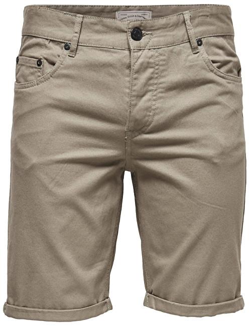 ONLY&SONS Pánské kraťasy Ply Colored Shorts Sa 9920 Fallen Rock 32