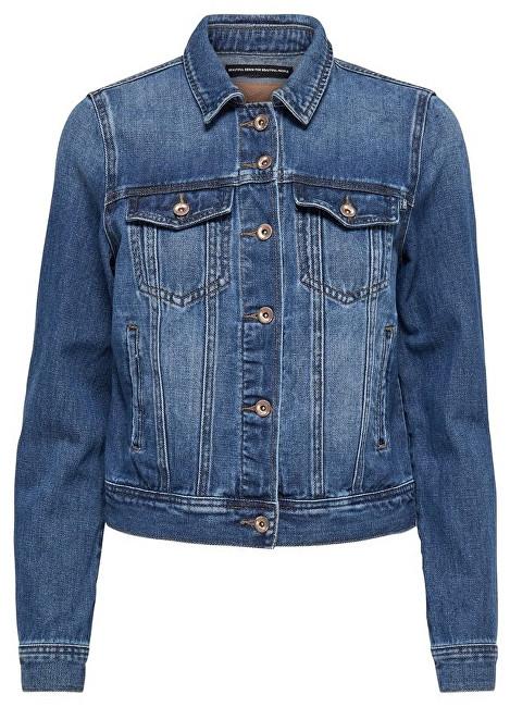 ONLY Jachetă pentru femei Justice Dnm Jacket Bj Bb Dark Blue Denim 36