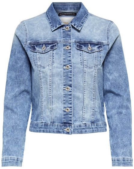 ONLY Doamnelor jacket New Chris Ls Dnm Jacket Bb Pim Wash B Light Blue Denim 36