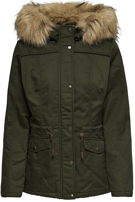 ONLY Dámska bunda New Kate Canvas Parka Otw M