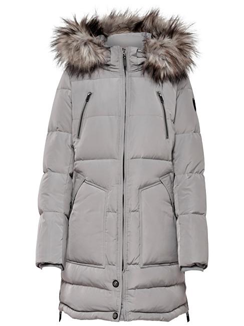 ONLY Jachetă pentru femei New Rhoda Rds Down Coat Otw Silver M