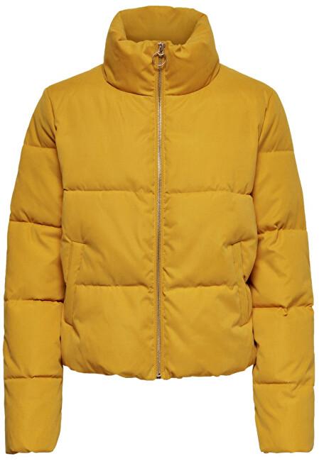 ONLY Geacă pentru femei ONLDINA SHORT QUILTED PUFFER CC OTW Golden Yellow M