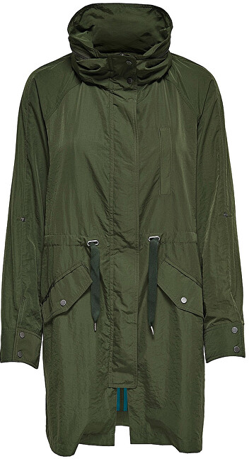 ONLY Parka de damă Thunder Long Oversized Shell Coat Otw Rifle Green M