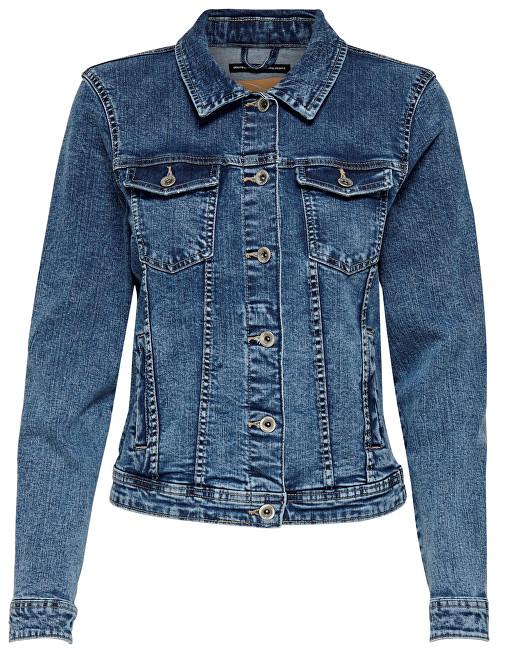 ONLY Jachetă pentru femei Tia Dnm Jacket Bb Mb Bex02 Medium Blue Denim 42