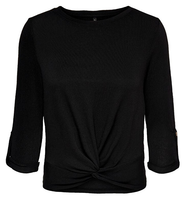 ONLY Bluză de femei ONLTINNA 3/4 TOP JRS Black XS