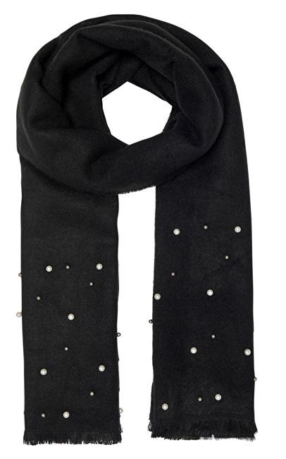ONLY Eșarfă pentru femei Timla Weaved Pearl Acc Black
