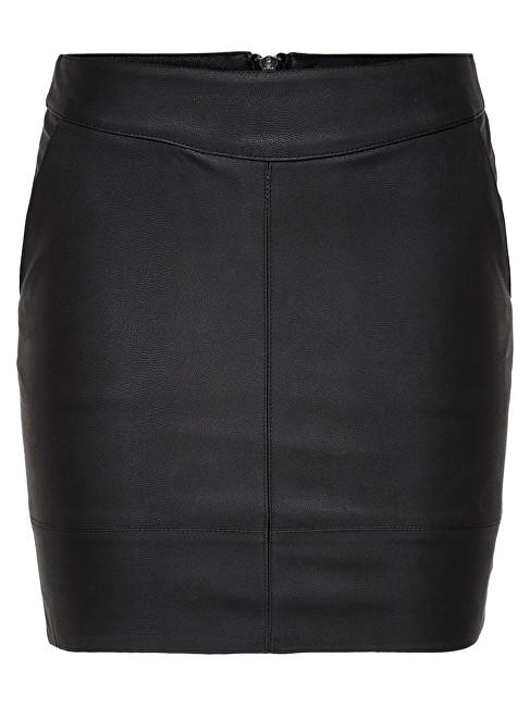 ONLY Fusta pentru femei Base Faux Leather Skirt OTW Noos 42