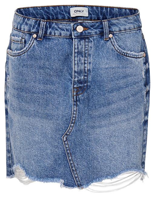 ONLY Fustă pentru femei Sky Reg Dnm Skirt Bb Pim992 Light Blue Denim 40