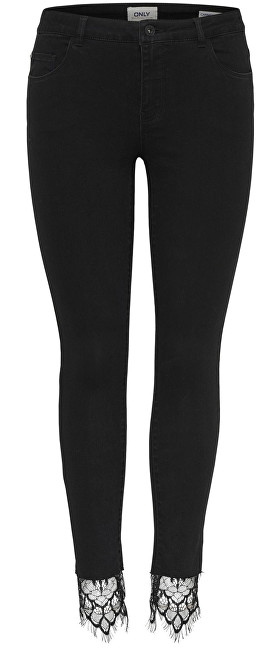 ONLY Doamnelor Jeans Carmen Rg Sk Lace Glezna Jeans Dnm 15159100 Black 32