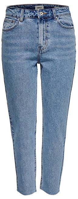 ONLY Jeans ONLEMILY HW ST RAW ANK BB MAE 0005 LBD Light Blue Denim 28/32