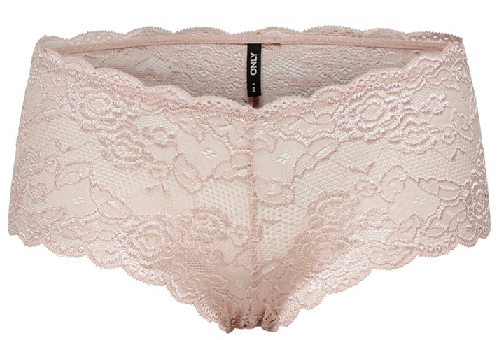 ONLY Dámske nohavičky Chloe Lace Brief 2-pack Noos Acc Rose Smoke XS