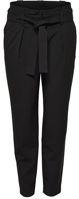 ONLY Pantaloni Nicole Paperbag Ankle Pants Wvn Noos Black 40