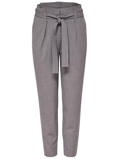 ONLY Pantaloni pentru femei Nicole Paperbag Pantaloni pentru glezna Wvn Noos Light Grey 38
