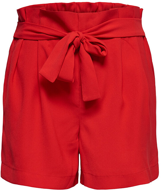 ONLY Femeile scurte New Florence Shorts Pnt High Risk Red L