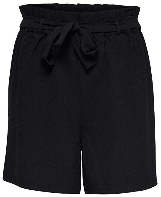 ONLY Femeile scurte Turner Paper Bag Shorts Wvn Noos Black 40
