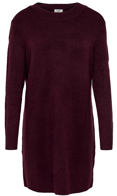 ONLY Rochie pentru femei Jdy Gold L/S Dress Knit Winetasting M