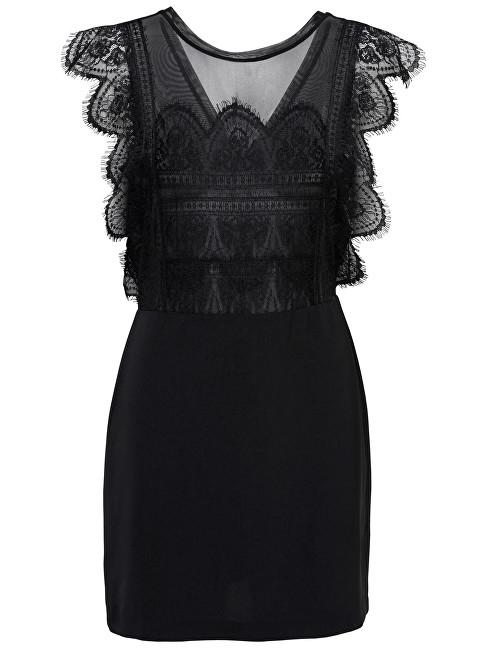 ONLY Femei rochie Seville Sl Lace Blocking Dress Wvn Black 34