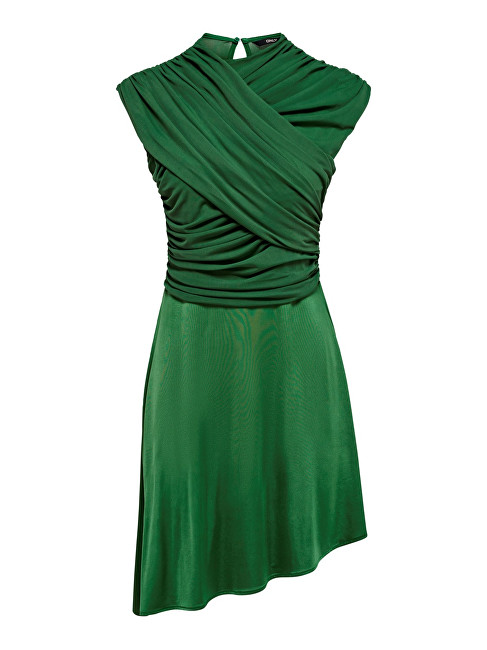 ONLY Rochie pentru femei True S/L Drappy Dress Jrs Verdant Green S