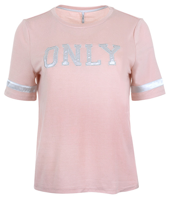ONLY Dámske tričko Mia S-S Only Logo Top Jrs Rose Smoke L