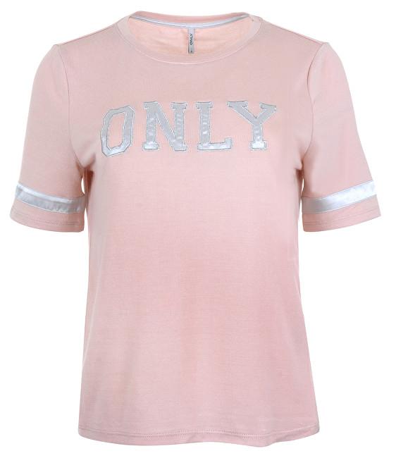 ONLY Dámske tričko Mia S / S Only Logo Top Jrs Rose Smoke M