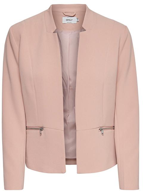 ONLY Blazer pentru femei Minna Maddy Zip Blazer Tlr Misty Rose 36