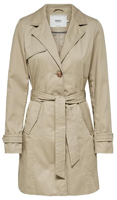 ONLY Îmbrăcăminte pentru femei Finesse Long Trenchcoat Otw Humus XL