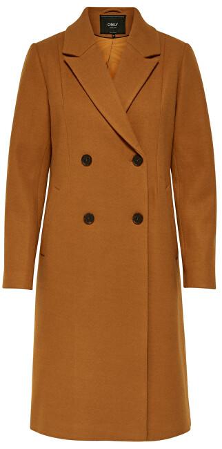ONLY Palton pentru femei ONLLOUISA WOOL COAT CC OTW Pumpkin Spice S