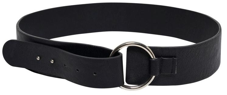 ONLY Curea Denise Pu Belt Acc Black 85 cm