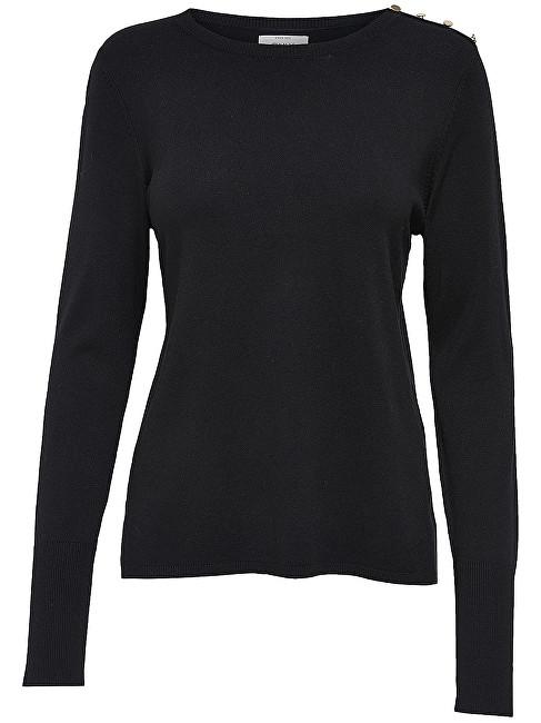 ONLY Pulover pentru dame Dina L/S Pullover Knt Noos Black XS