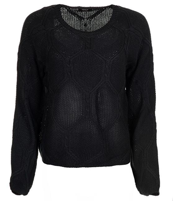 ONLY Pulover pentru dame Felina L / S Pulovere KNT Black XS