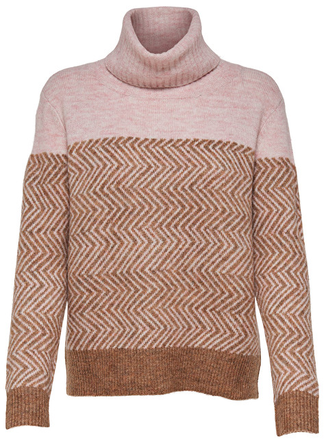 9446988c4 ONLY Pulover pentru femei New Mara L/S Roll Pullover Knt Indian Tan XL ...