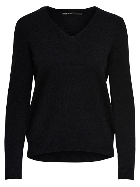 ONLY Doamnelor Queen V-Neck L/S Pulover Knt Noos L