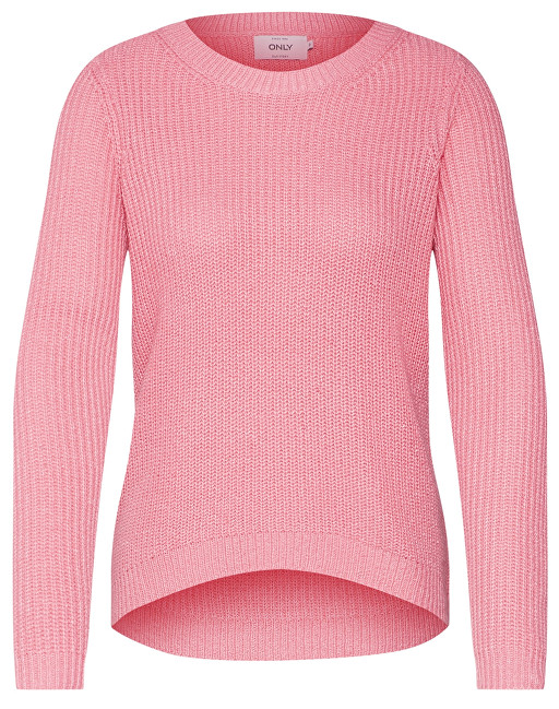 ONLY Pulover pentru dame Shiny L/S Pullover Knt Bubblegum W.Ballet Slipp XS