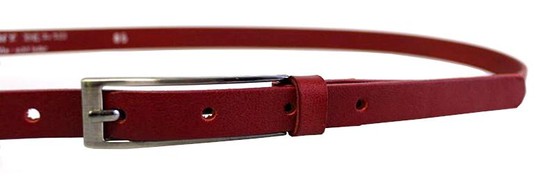 Penny Belts Piele din piele din piele 15-1-93 Roșu 95 cm