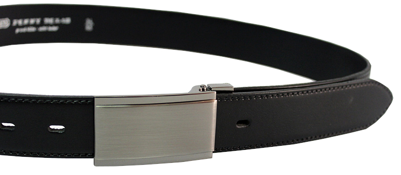 bd77e7ba7 Penny Belts Pánský kožený společenský opasek 35-020-4PS-60 Černý 90 cm