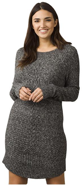 b0c1563ff8 Prana Dámske šaty Cadwell Dress Coal L
