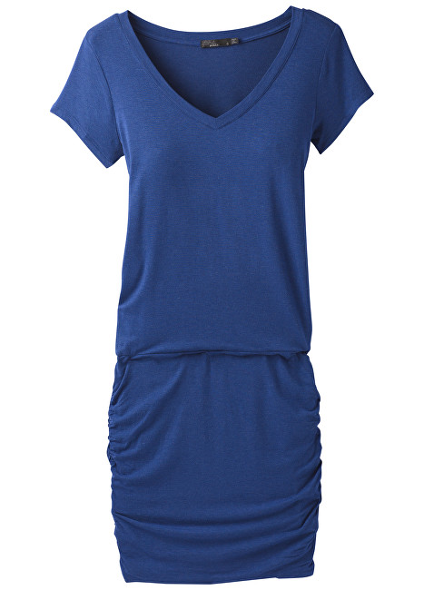Prana Dámske šaty Foundation Dress Sapphire Heather S