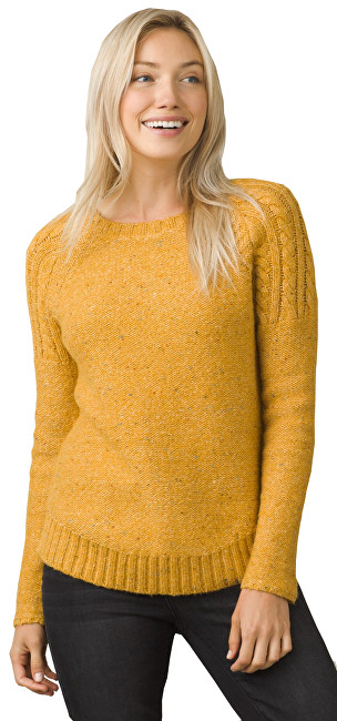 Prana Dámsky sveter Pia Sweater Curry S