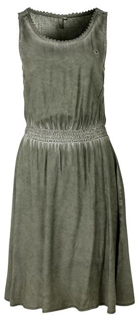 8eb0c75f0be Q-S designed by Dámske krátke zelené šaty 36