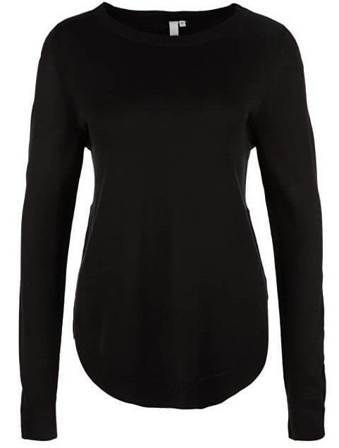 Q/S designed by Dámský pulover 41.812.61.2473.9999 Black