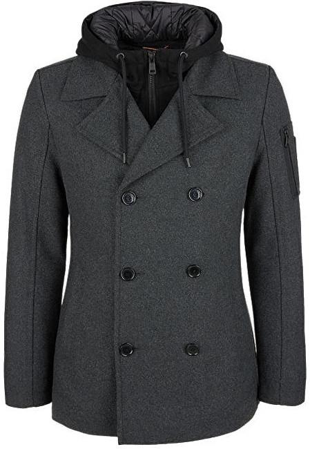 Q/S designed by Pánsky kabát 47.711.52.4769.9898 Black XL