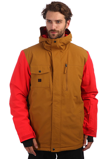 Quiksilver Bunda Mission Soli Golden Brown EQYTJ03185-CPD0 M