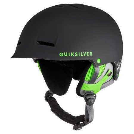 Quiksilver Lyžiarska helma Fusion M Hlmt Green Flash GJS0EQYTL03005-GJS0 58 cm