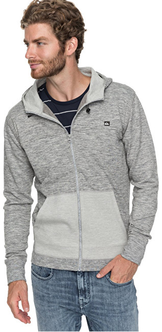 Quiksilver Hanorac Aidrove Medium Grey Heather EQYFT03762-KPVH pentru bărbați S