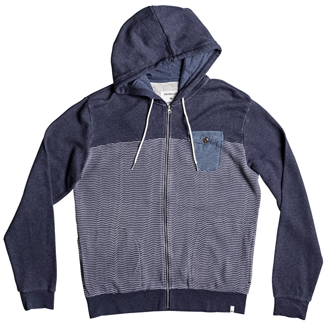 Quiksilver Mikina Mahataozip Navy Blaze r Heather EQYFT03685-BYJH M