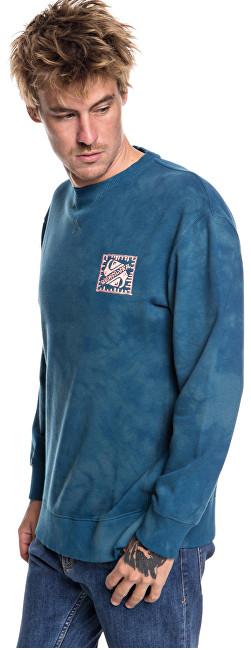 Quiksilver Hanorac Volcanic Ocean Crew Tapestry EQYFT03845-BPH0 XL